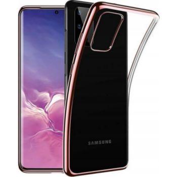 Shot Case Chrome Silicone SAMSUNG Galaxy A41 ROSE