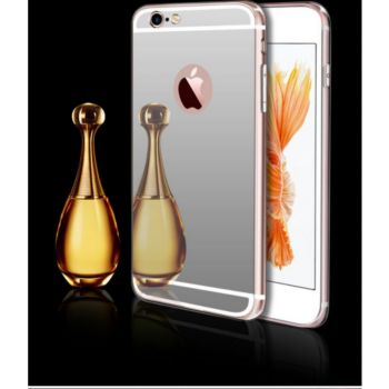 Shot Case Coque Miroir IPHONE 8 Maquillage ARGENT