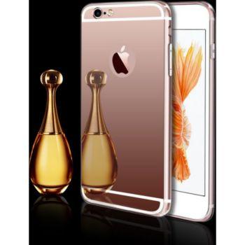 Shot Case Coque Miroir IPHONE 8 Maquillage ROSE