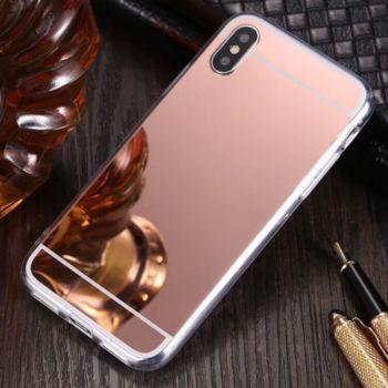 Shot Case Coque Miroir IPHONE Xs Maquillage ROSE