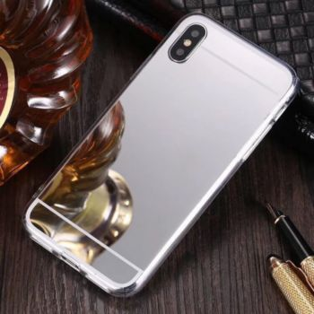 Shot Case Coque Miroir IPHONE Xs Max ARGENT