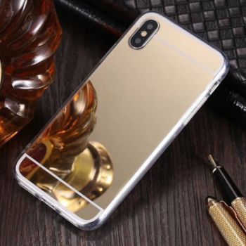 Shot Case Coque Miroir IPHONE Xs Maquillage OR