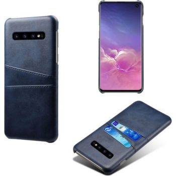 Shot Case Coque Porte-cartes SAMSUNG S10E BLEU