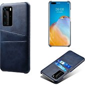 Coque Shot Case Coque Porte-cartes HUAWEI P40 Pro  BLEU