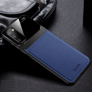 Shot Case Coque SAMSUNG Galaxy S20 Plexiglass BLEU
