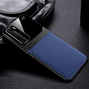 Shot Case Coque  HUAWEI P40 Pro Plexiglass BLEU