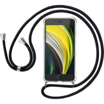Shot Case Coque Cordon IPHONE 7 Silicone BLANC