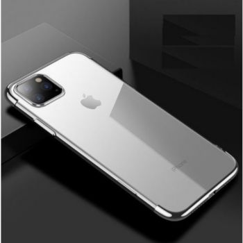 Shot Case Coque Silicone Bord IPHONE 11 Pro ARGENT