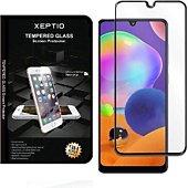 Protège écran Xeptio Samsung Galaxy A31 vitre noir