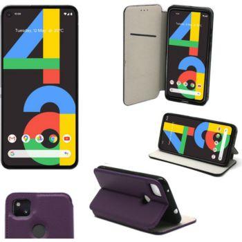 Xeptio Google Pixel 4A 4G portefeuille violet