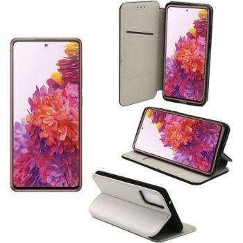 Xeptio Samsung Galaxy S20 FE portefeuille blanc