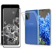 Protège écran Xeptio Samsung Galaxy S20 FE tpu et full noir