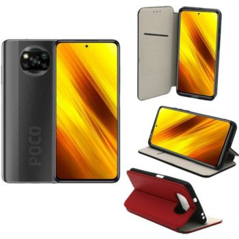 Xeptio Xiaomi Poco X3 NFC porte rouge