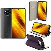 Housse Xeptio Xiaomi Poco X3 NFC Etui violet