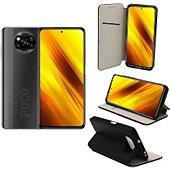Housse Xeptio Xiaomi Poco X3  Portefeuille noir