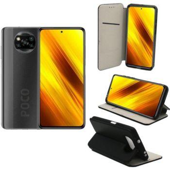 Xeptio Xiaomi Poco X3  Portefeuille noir