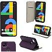 Housse Xeptio Google Pixel 4A 4G Etui violet
