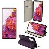 Housse Xeptio Samsung Galaxy S20 FE pochette violet