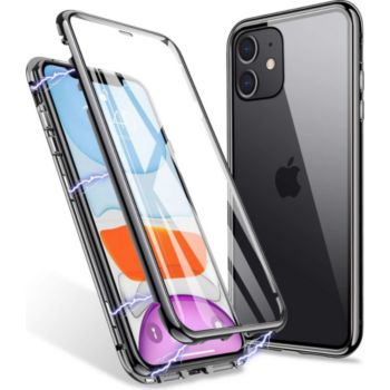 Shot Case Coque Verre Trempe IPHONE 12 Mini NOIR