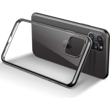Shot Case IPHONE 12ProMax Coque Chrome + Film NOIR