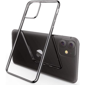 Shot Case IPHONE 12ProMax Coque Chrome+Film ARGENT