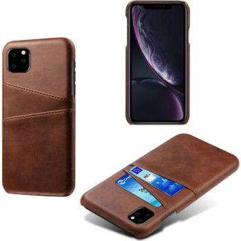 Shot Case Coque Porte-cartes IPHONE 12 Pro MARRON
