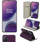 Housse Xeptio OnePlus 8T 5G Etui violet