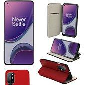 Housse Xeptio One Plus 8T 5G Etui rouge