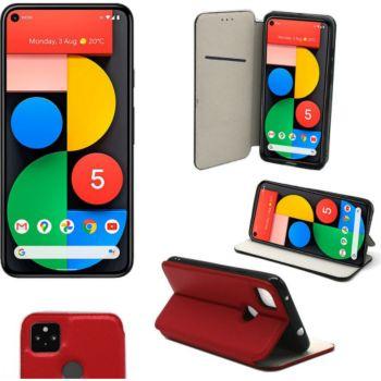 Xeptio Google Pixel 5 5G Etui rouge