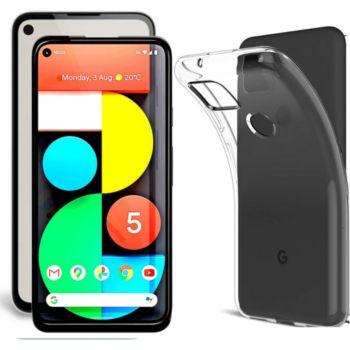 Xeptio Google Pixel 5 5G tpu et full noir