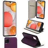 Housse Xeptio Samsung Galaxy A42 5G Etui violet