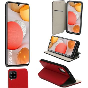 Xeptio Samsung Galaxy A42 5G porte rouge