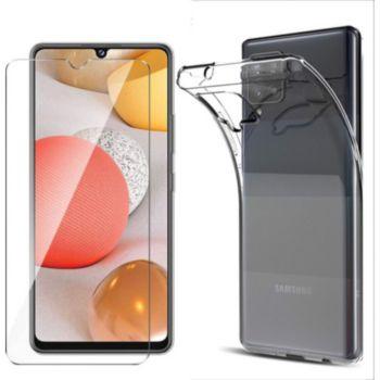 Xeptio Samsung Galaxy A42 5G gel tpu et vitre