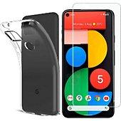Protège écran Xeptio Google Pixel 4A 5G gel tpu et vitre