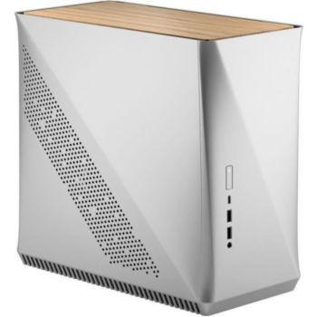 Foxter Boîtier PC Era ITX Silver- White Oak