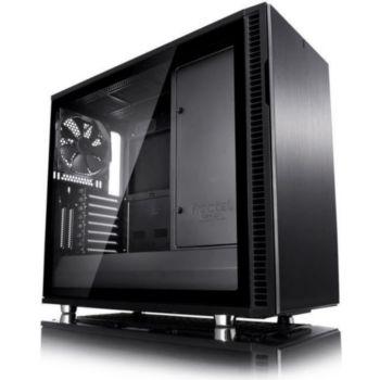 Fractal Design Define R6C Blackout Tempered Glass USB-C