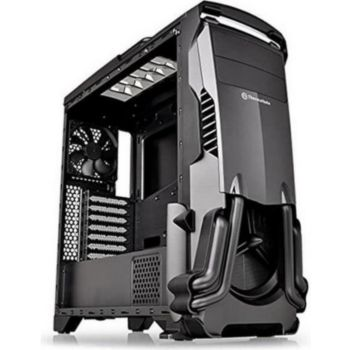 Thermaltake Boîtier PC Versa N24 Noir Fenetre