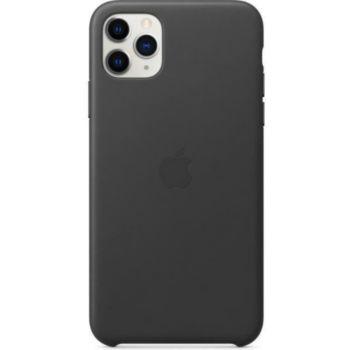 Apple Coque Cuir iPhone 11 Pro Max Noir