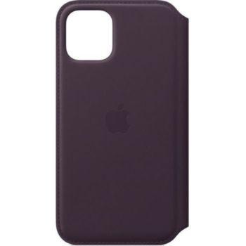 Apple Étui en cuir IPHONE 11 Pro Max Aubergine