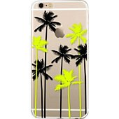 Coque Bigben Connected Coque Iphone 6/6S Palmiers Transparente