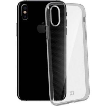 Xqisit Coque iPhone X silicone transparente