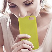 Coque . Coque Parfum Citron Iphone 7 Jaune