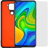 Pack Modelabs Pack Coque noire + Film Xiaomi Note 9
