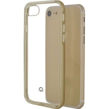 . Coque Silicone+ telephone iPhone 7 Or