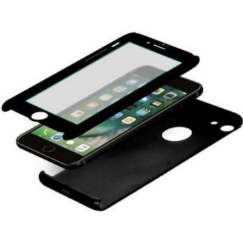 . Coque protection totale IPhone 7/8 Noir