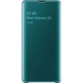 . Samsung Clear View cover S10+ Blanc