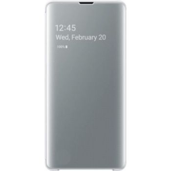 . Samsung Clear View cover S10e - Blanc