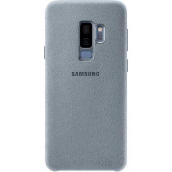 . Samsung Coque en Alcantara S9+ Vert