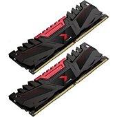 Mémoire PC PNY DDR4 3200, 2KIT, AXR 16 Go MD16GK2D43200