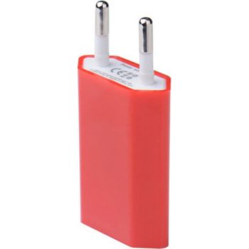 Shot Case USB Prise Murale IPHONE 1 Port (ROUGE)